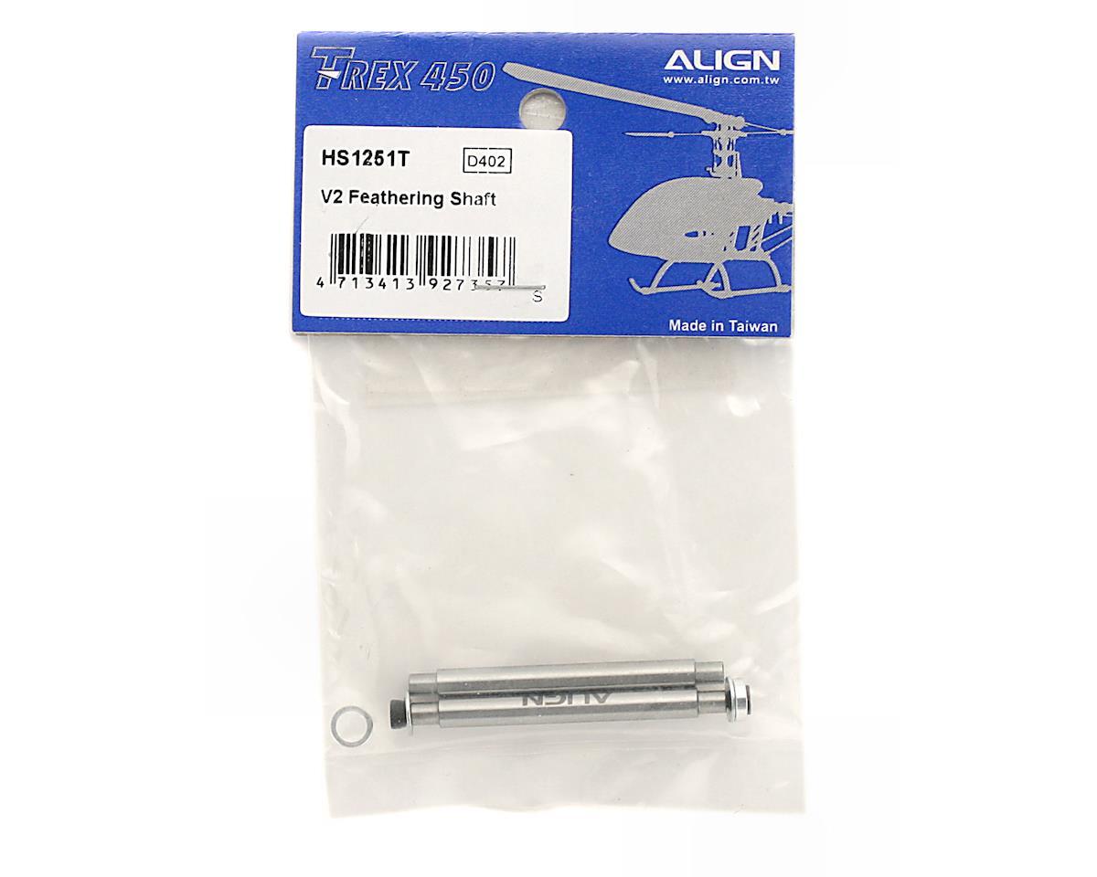 Align Feathering Shaft (450V2)
