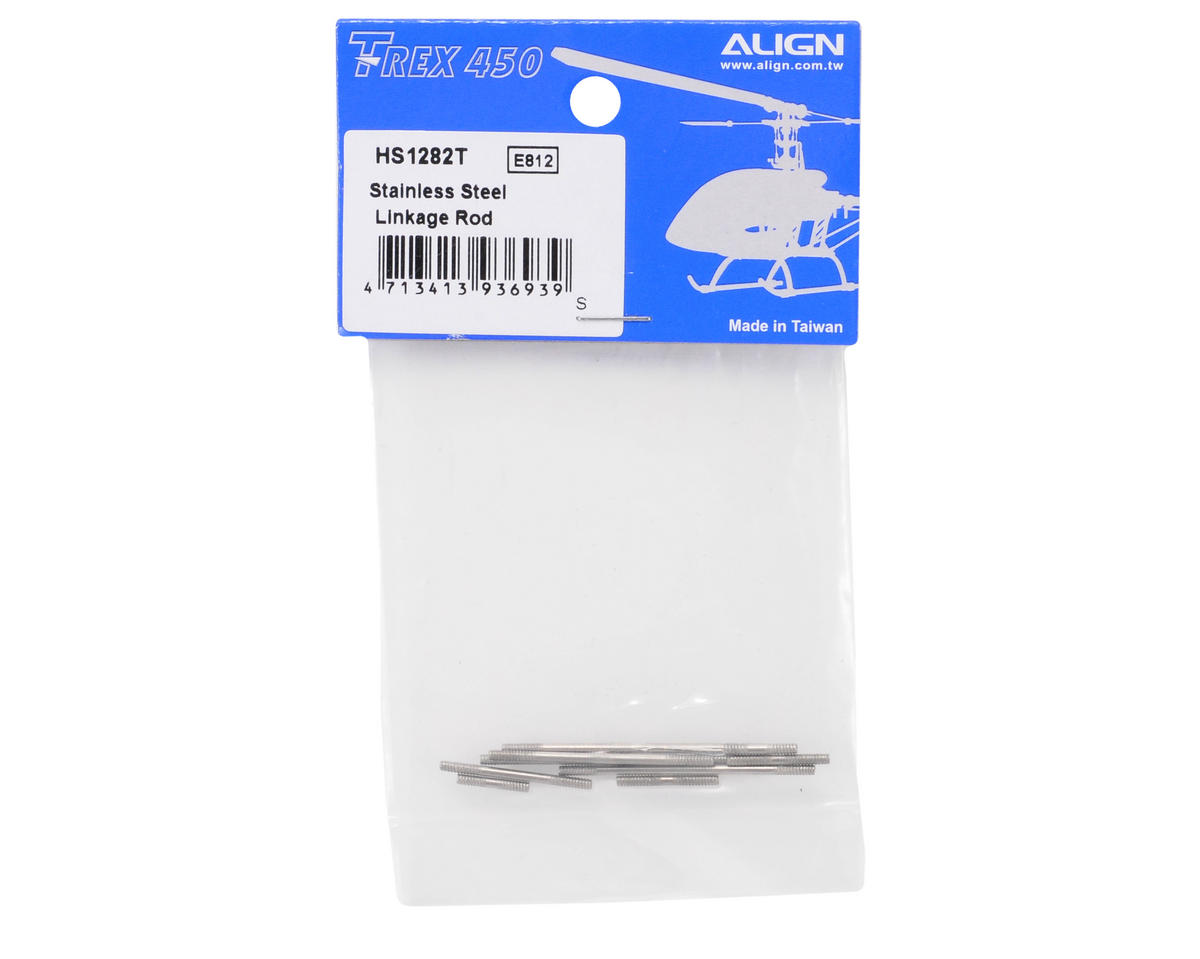 Align 450 Stainless Steel Linkage Rod Set