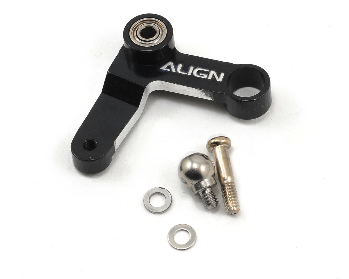 Align Metal Tail Rotor Control Arm Set (Black)