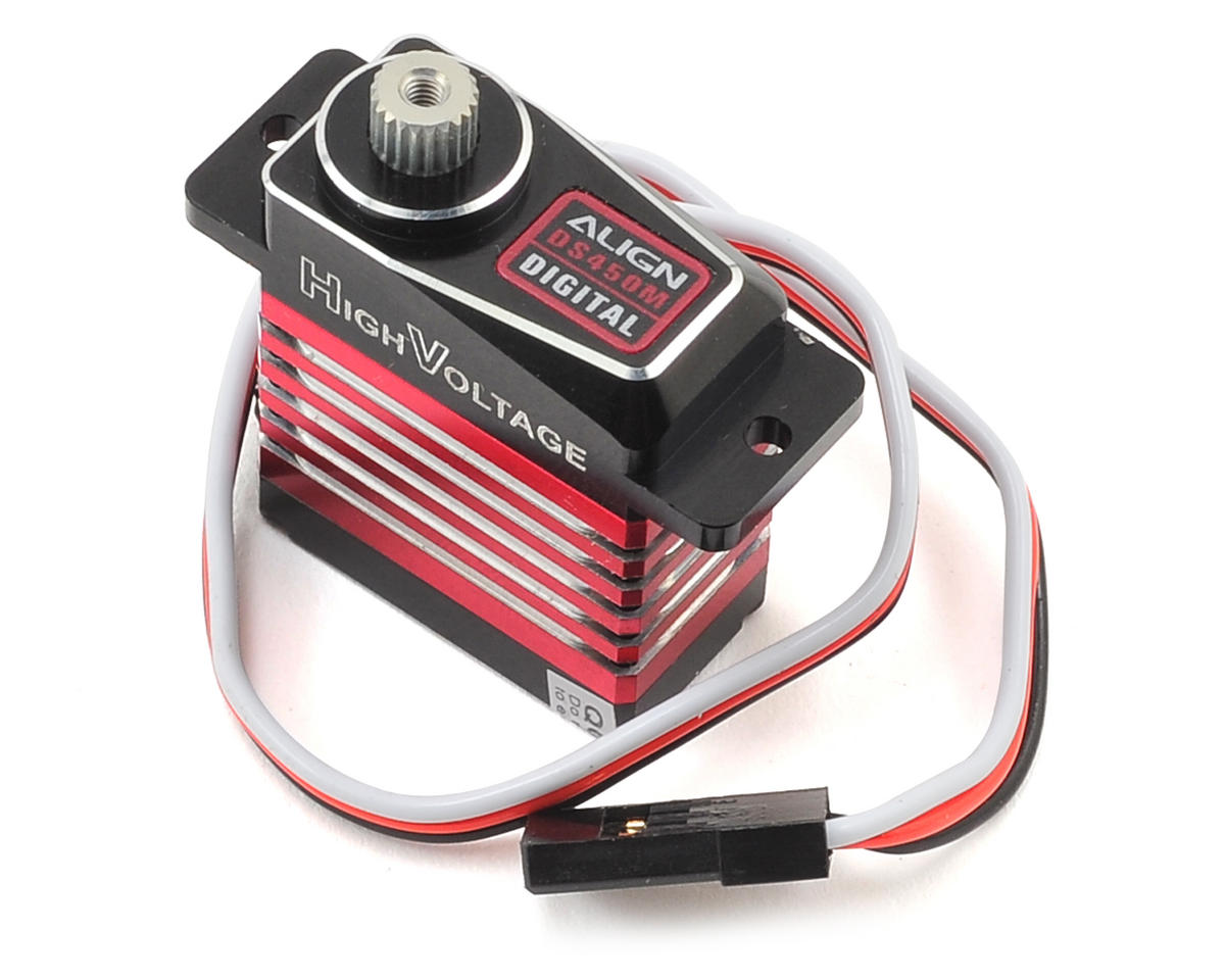 Align T-Rex 450 Sport V2 DS450M Digital Metal Gear Mini Cyclic Servo (High Voltage)