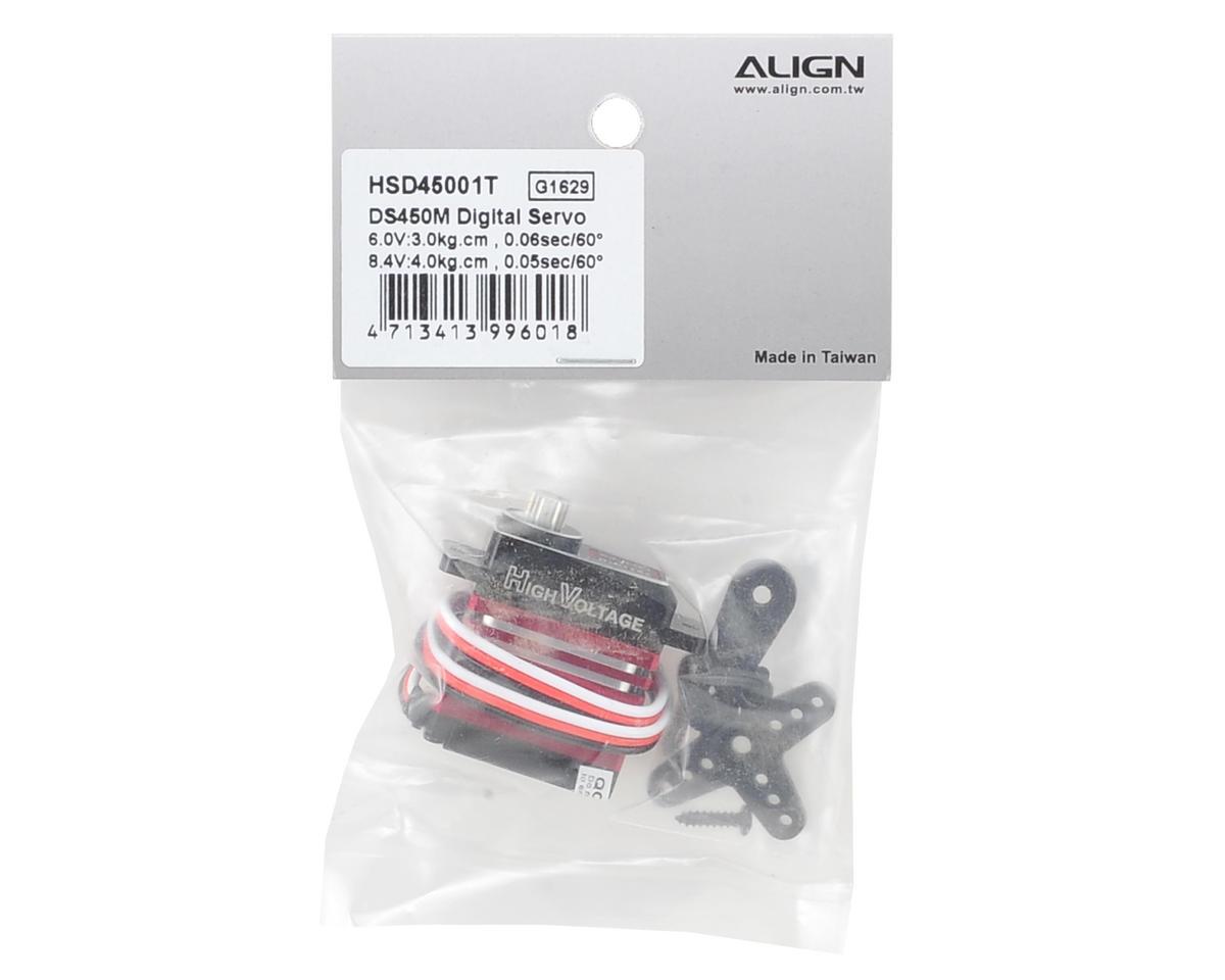 Align DS450M Digital Metal Gear Mini Cyclic Servo (High Voltage)