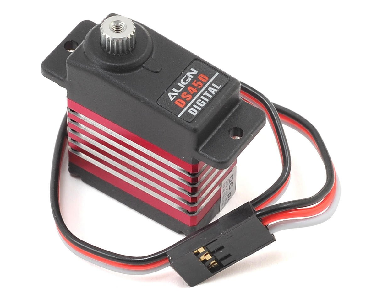 Align T-Rex 450 Sport V2 DS450 Digital Metal Gear Mini Cyclic Servo (High Voltage)