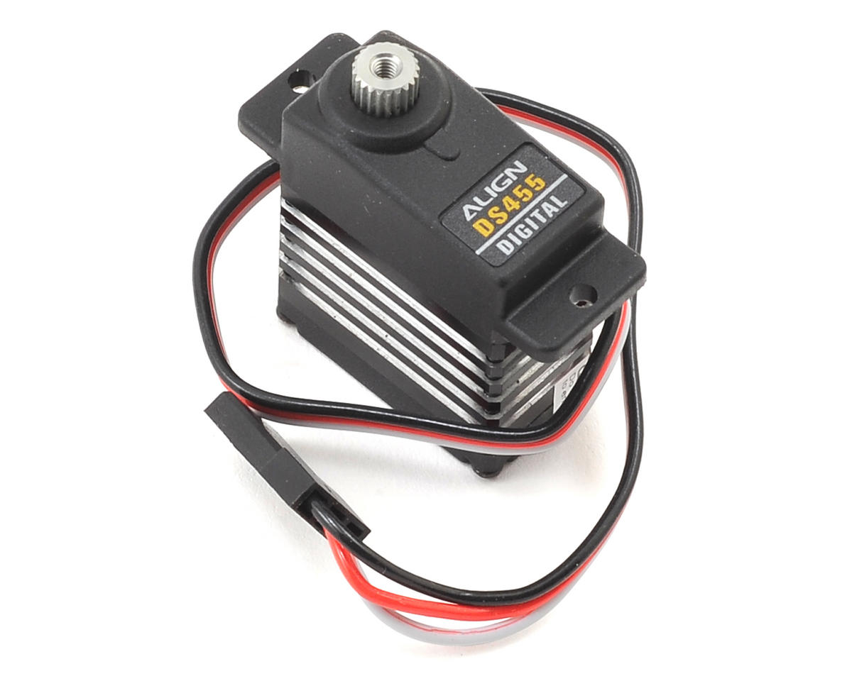DS455 Metal Gear Digital Mini Tail Servo (High Voltage) by Align