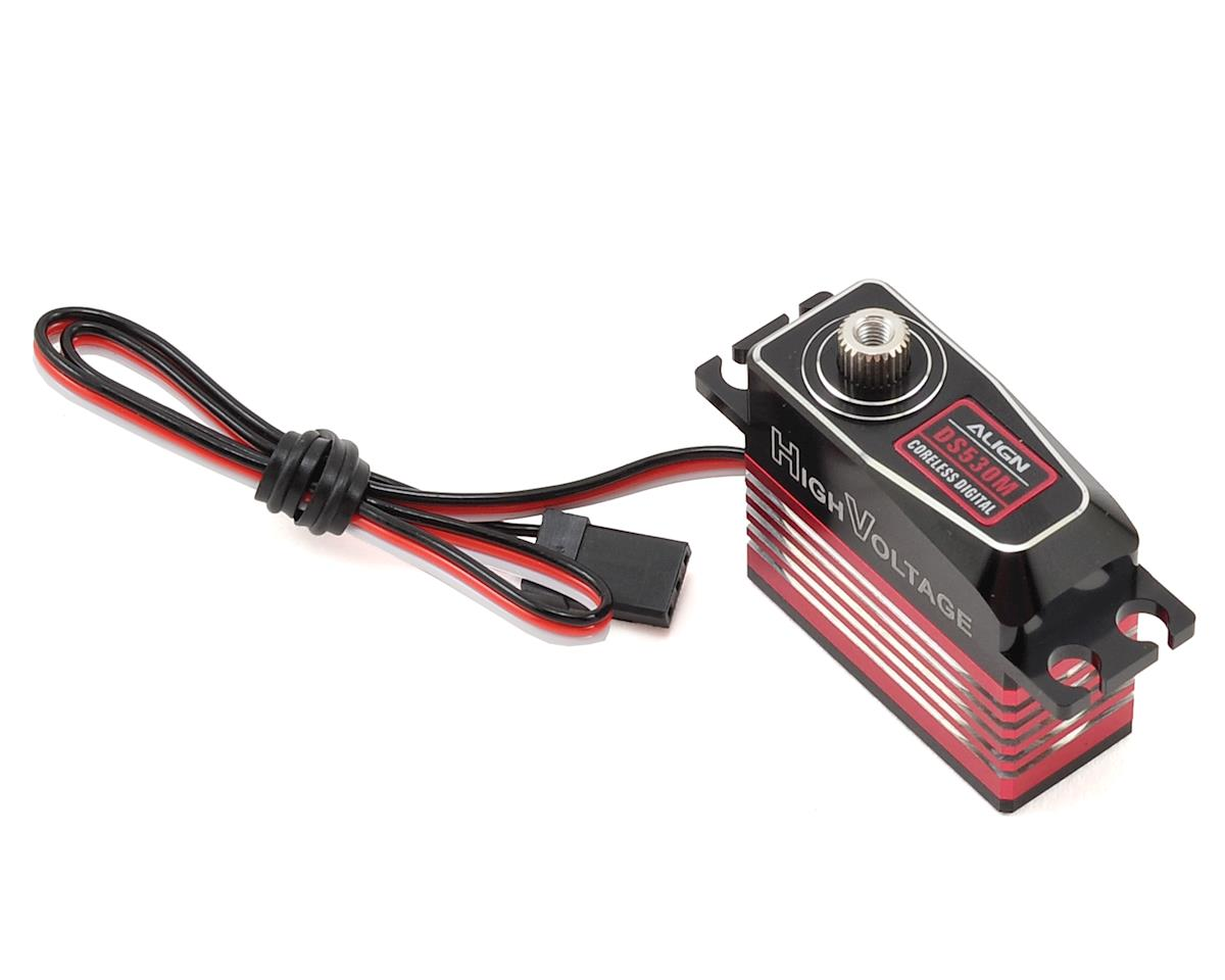 DS530M Digital Metal Gear Mini Cyclic Servo (High Voltage) (Aluminum Case) by Align