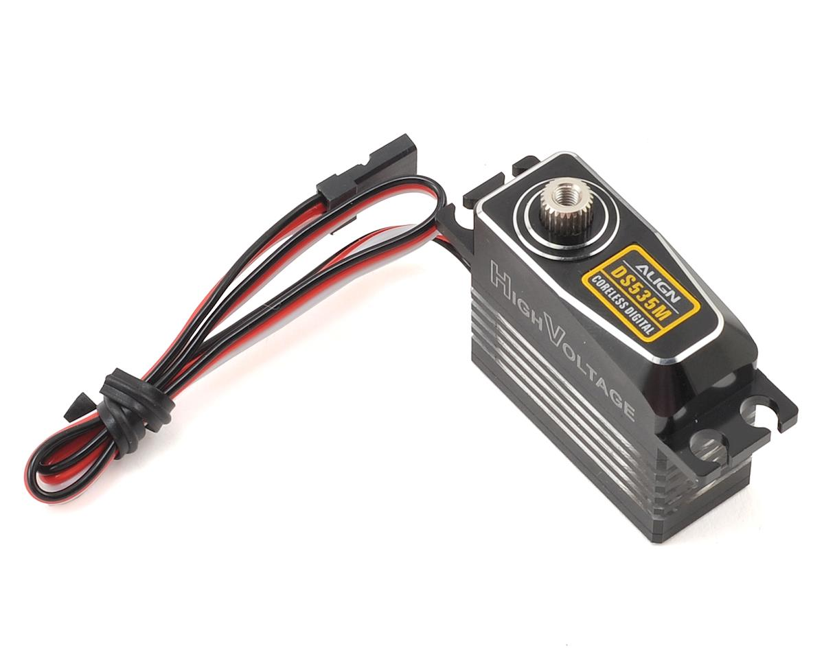 Align DS535M Digital Metal Gear Mini Tail Servo (High Voltage) (Aluminum Case)