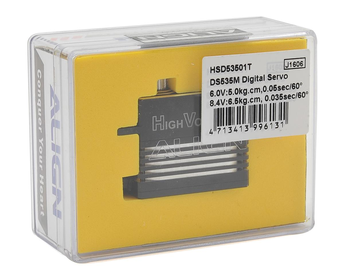 DS535M Digital Metal Gear Mini Tail Servo (High Voltage) (Aluminum Case) by Align