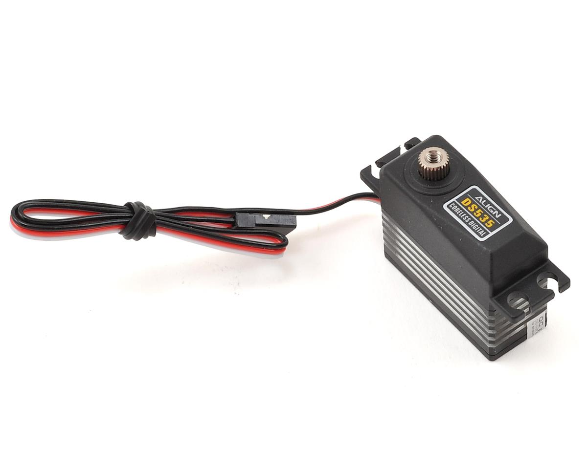 DS535  Digital Metal Gear Mini Tail Servo (High Voltage) by Align