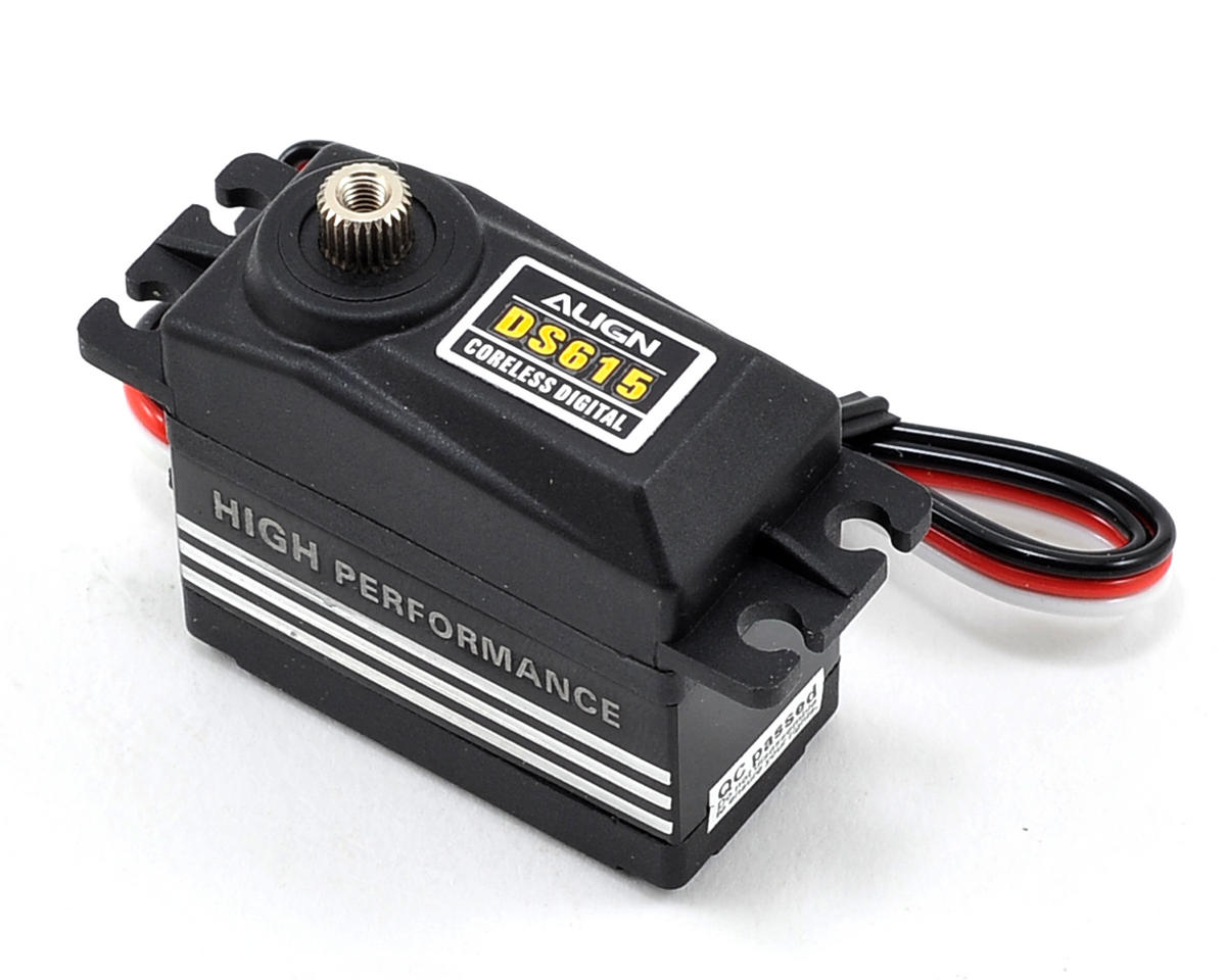 SCRATCH & DENT: Align DS615 Digital High Torque Coreless Metal Gear Servo