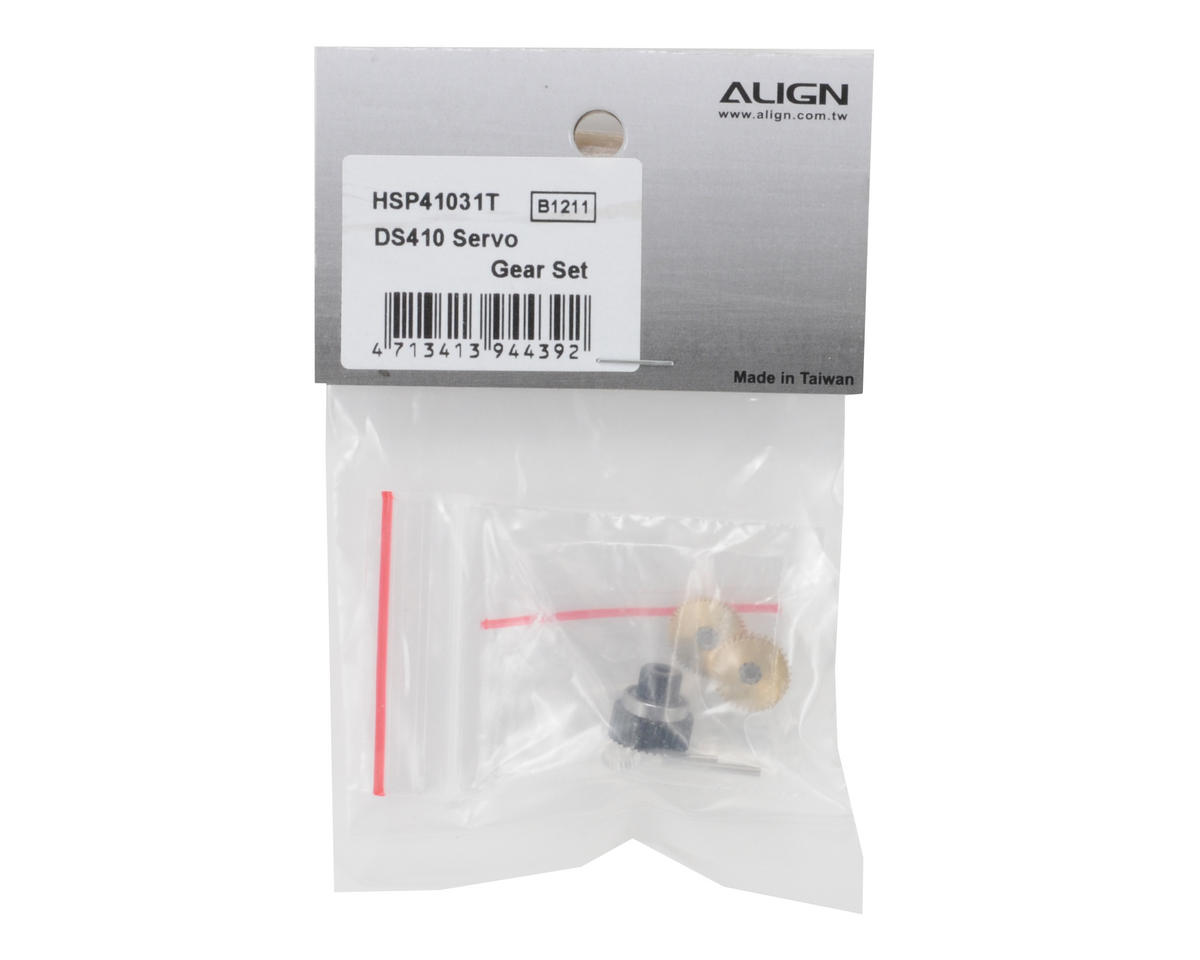 Align DS410 Servo Gear Set
