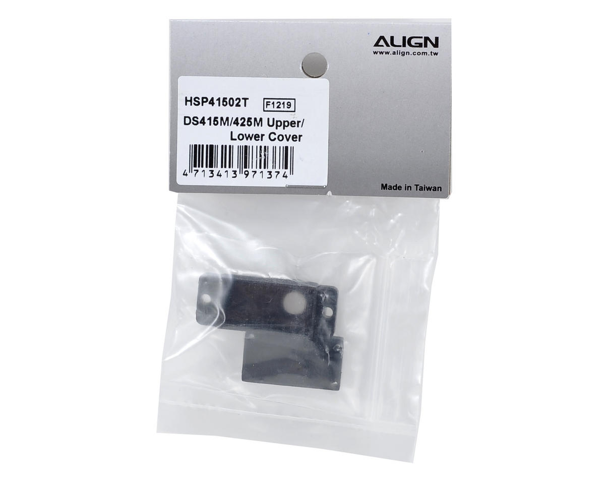 Align DS415M/425M Upper/Lower Servo Case Set