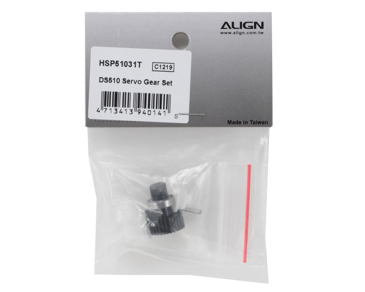 Align DS510 Servo Gear Set
