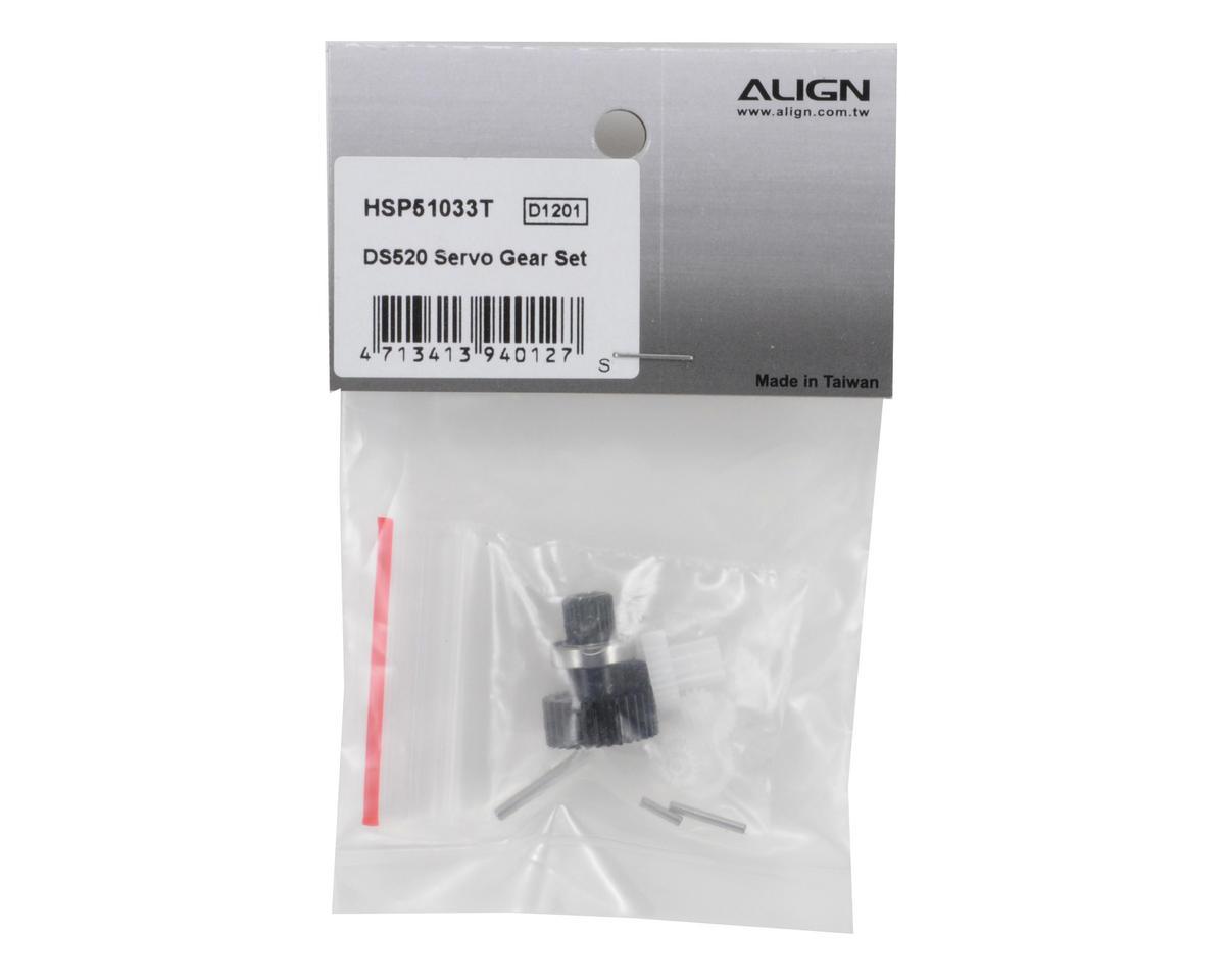 Align DS520 Servo Gear Set