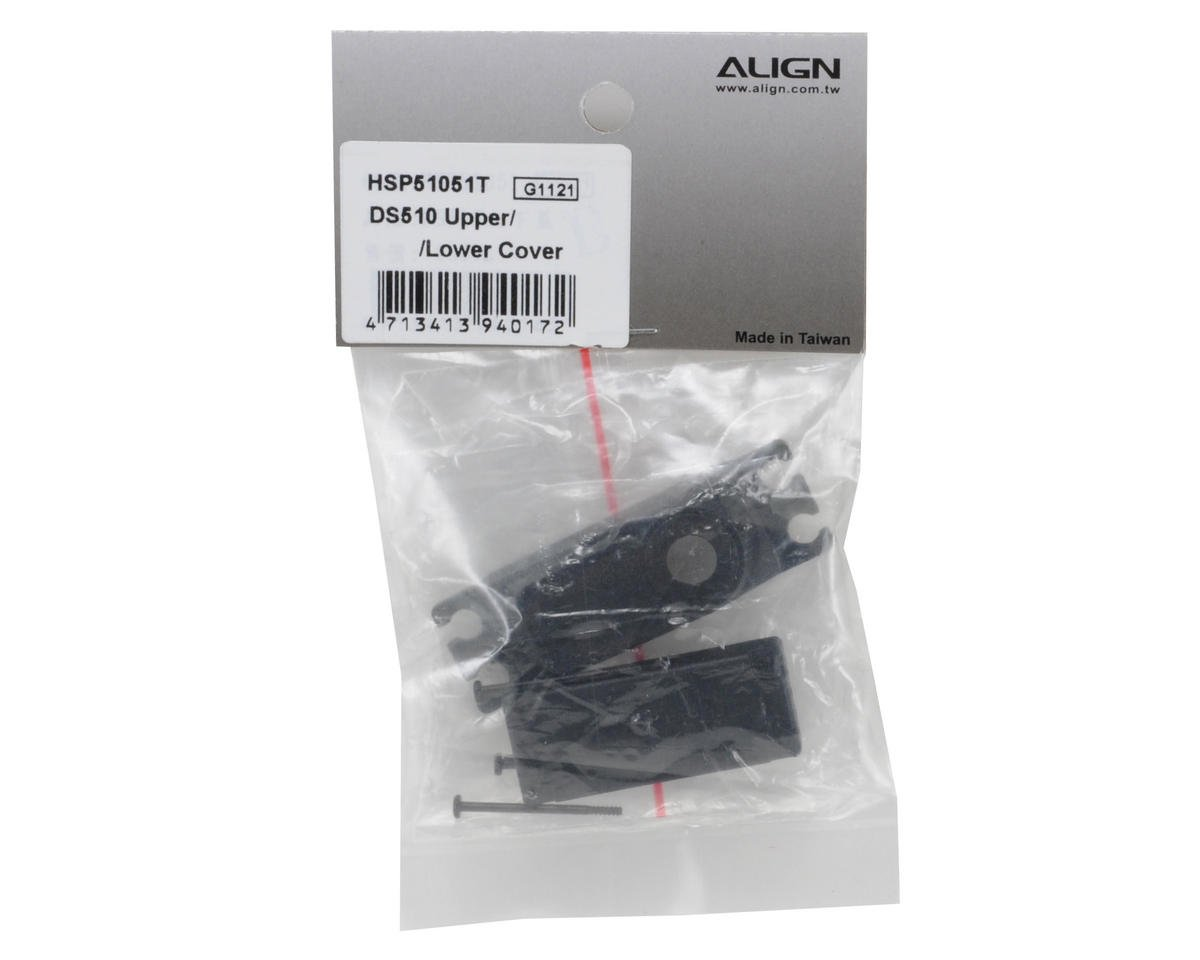 Align DS510/520 Upper/Lower Servo Case Set