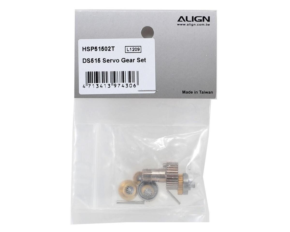 Align DS515 Servo Gear Set