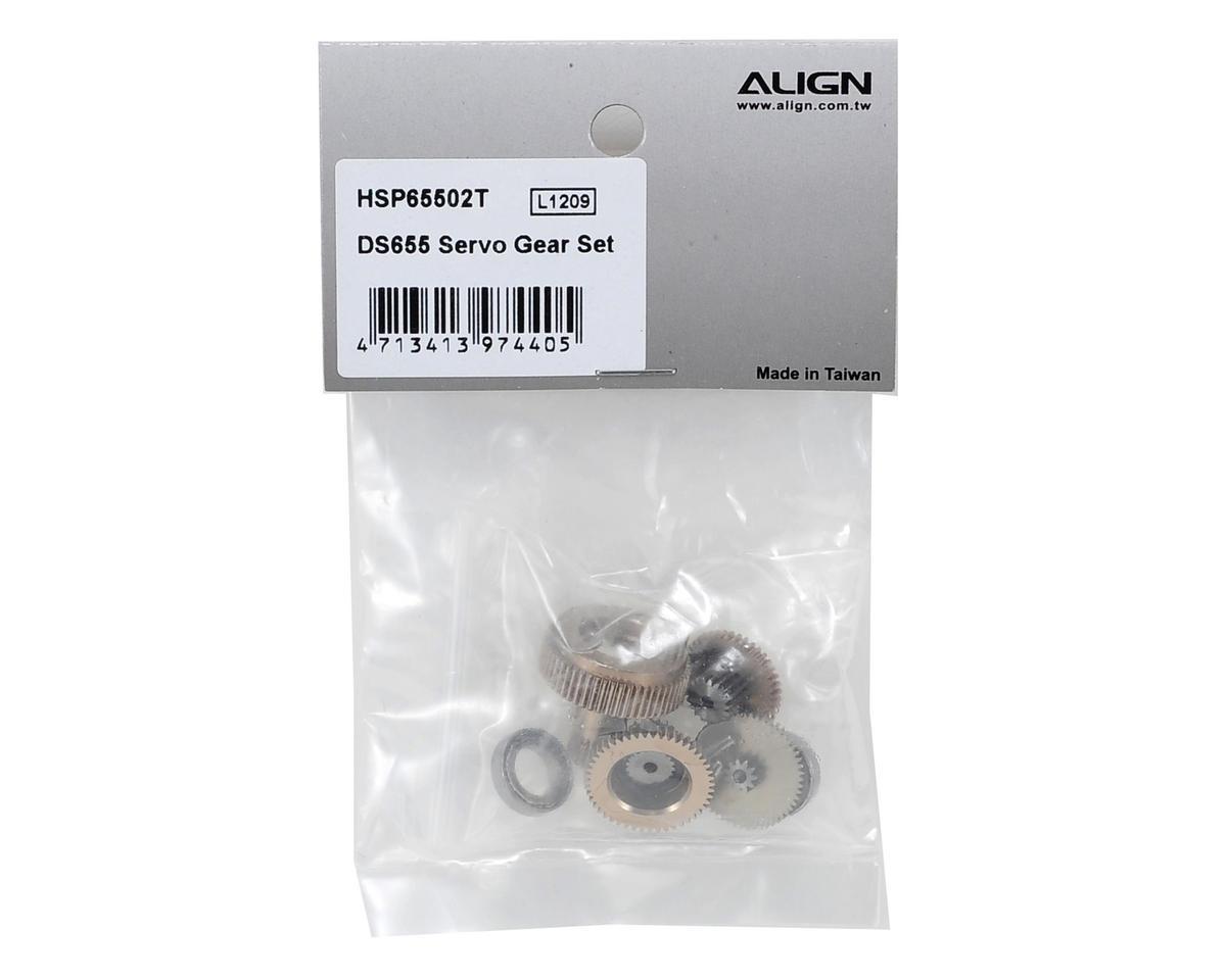 Align DS655 Servo Gear Set
