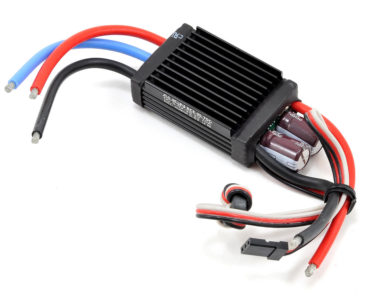 Align RCE-BL70G 70A Brushless ESC w/Governor Mode