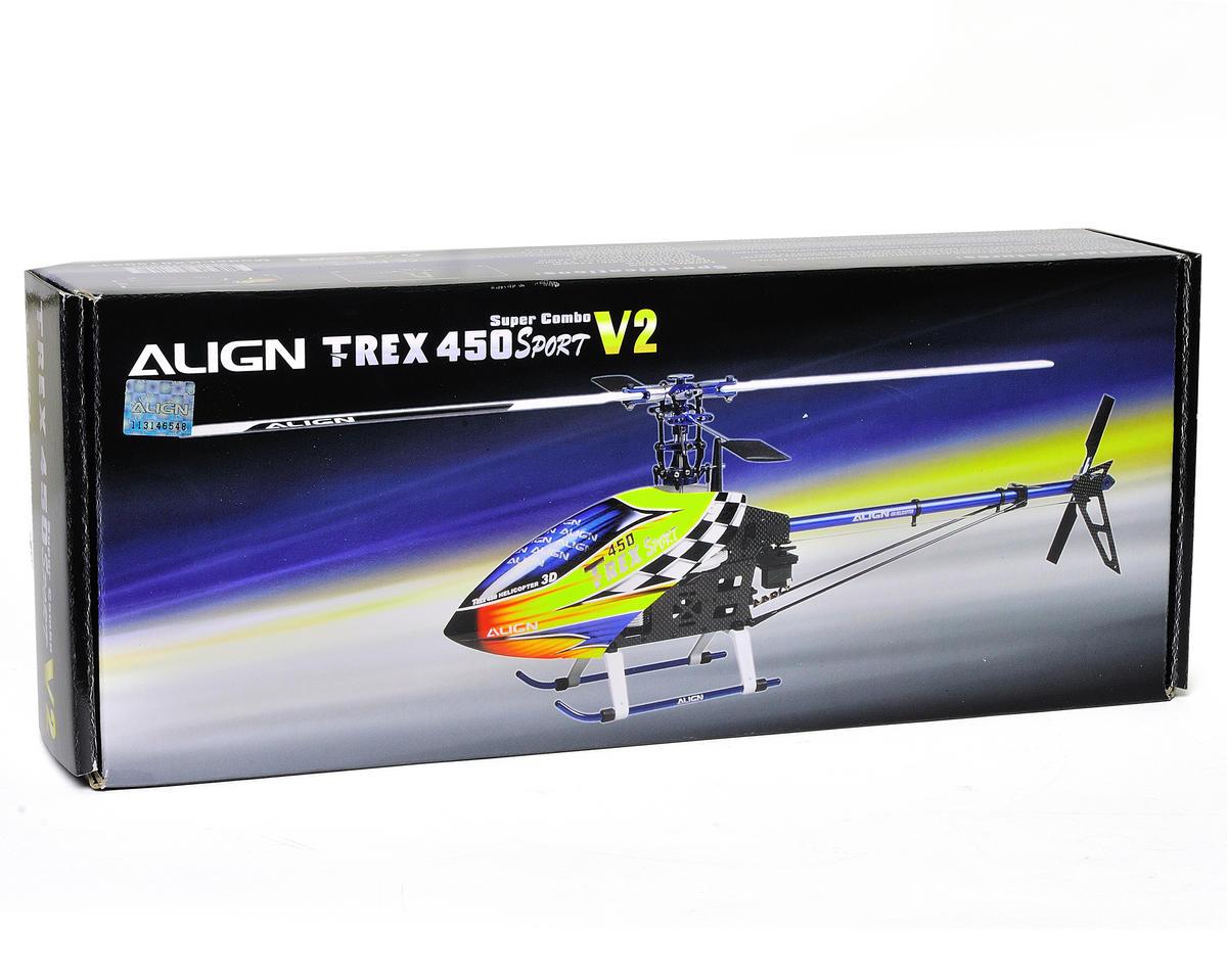 Align T-Rex 450 Sport V2 Super Combo