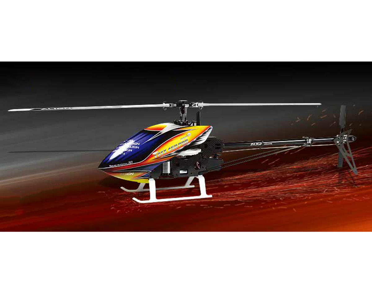 Align T-REX 450PRO DFC Super Combo Helicopter Kit w/Motor/ESC/Gyro/Servos & Carbon Blades