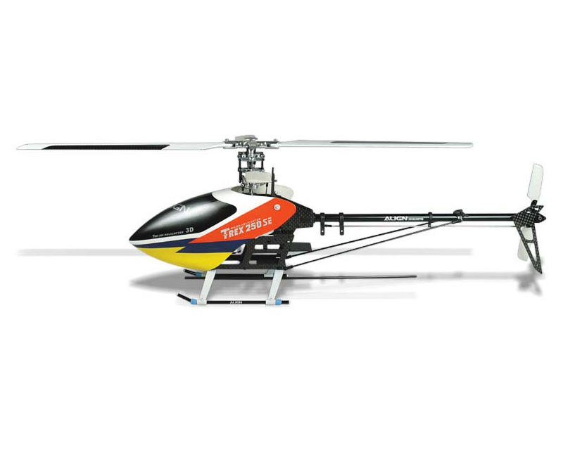 Align T-Rex 250 SE Electric Micro Helicopter Super Combo (w/Gyro & 4 Servos)