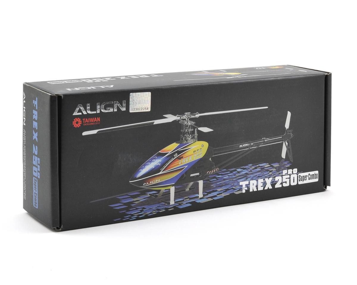 Align T-REX 250 Pro Super Combo w/Motor/ESC/Gyro/Servos/Tools (Carbon Blades)
