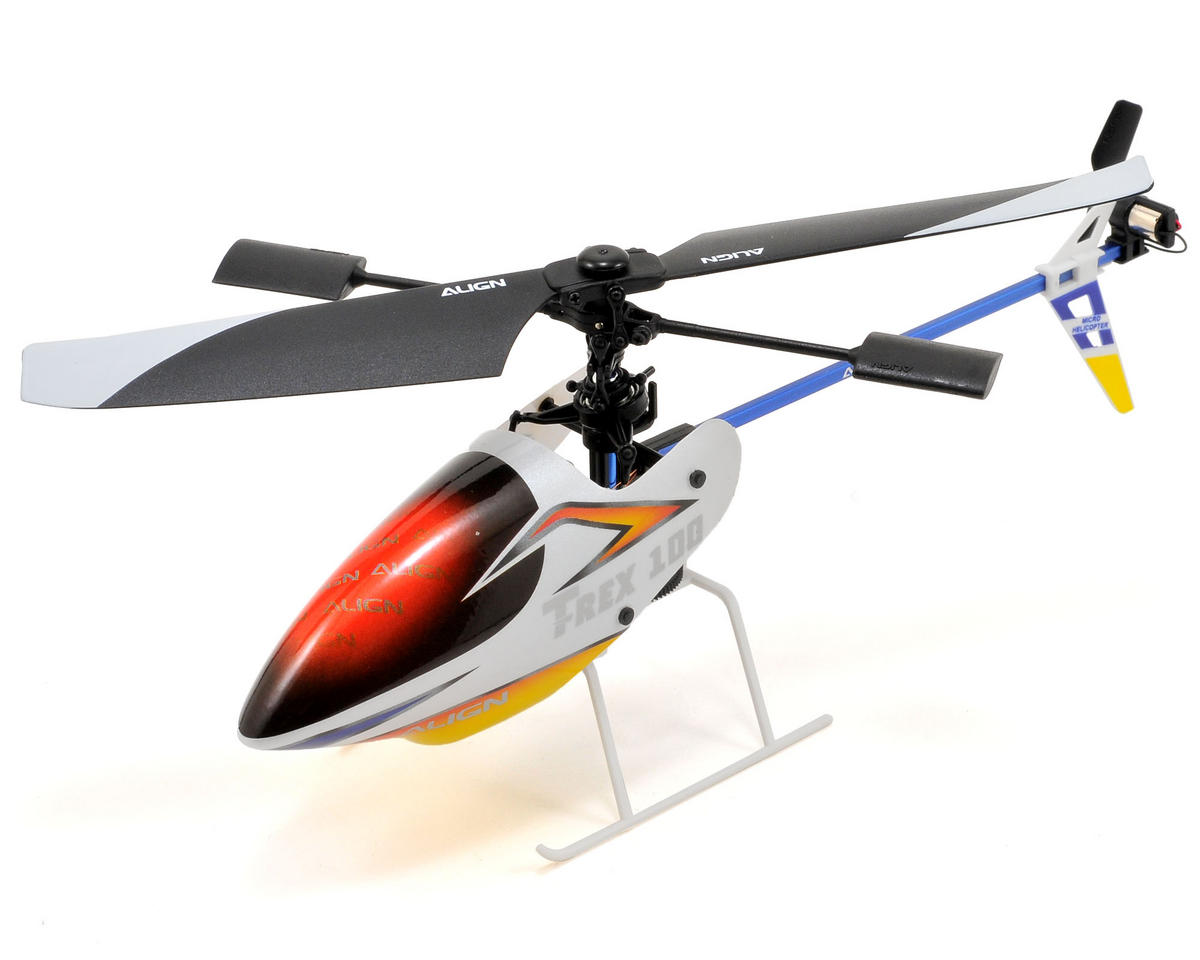 "Align T-Rex 100X ""Super Combo"" Electric RTF Micro Helicopter Kit"