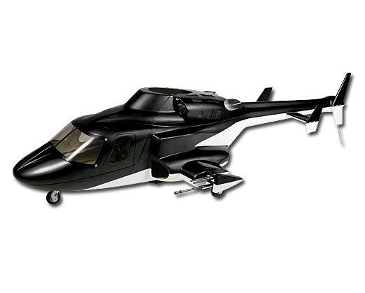 Align T-Rex 500 Airwolf Scale Fuselage (Black)