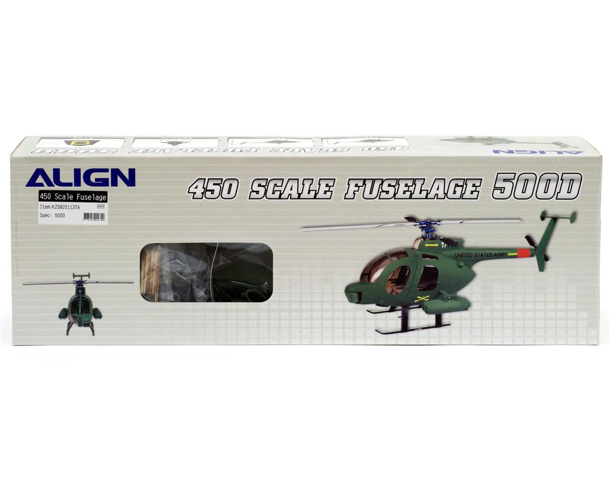 Align 450 Scale Fuselage 500D (Camo)