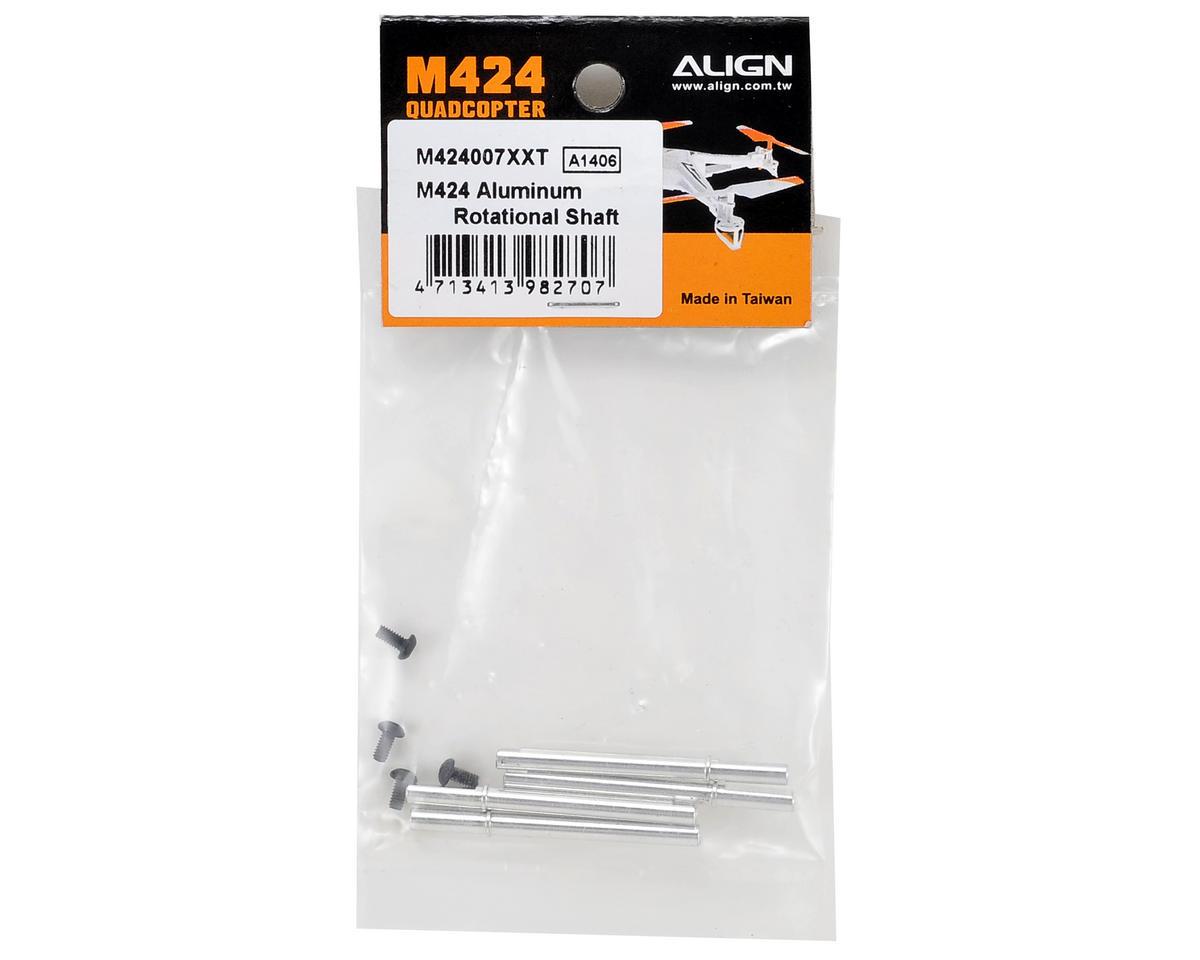 Align M424 Aluminum Rotational Shaft (4)
