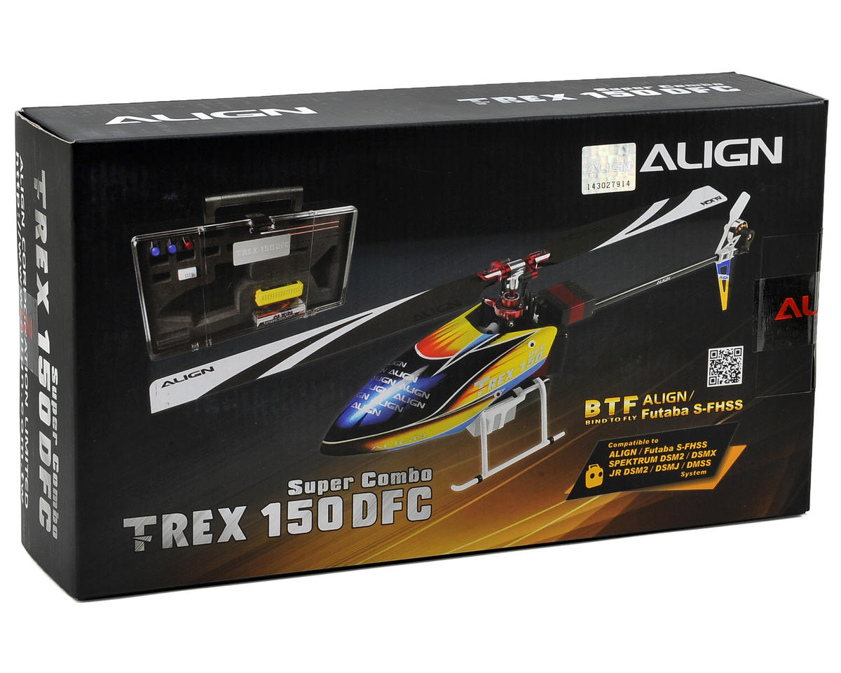 Align T-Rex 150 DFC Super Combo BTF Helicopter