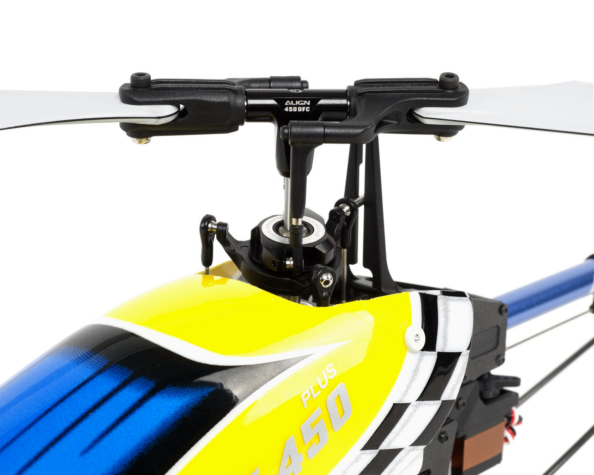 Align T-REX 450 Plus DFC Super Combo RTF Helicopter w/2.4GHz/3GX MR/ESC/Motor/Charger & CF Blade