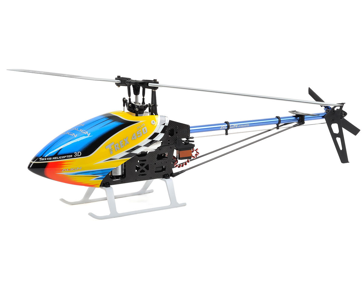 Align T-REX 450 Plus DFC Super Combo BTF Helicopter w/3GX MR/ESC/Motor & CF Blades