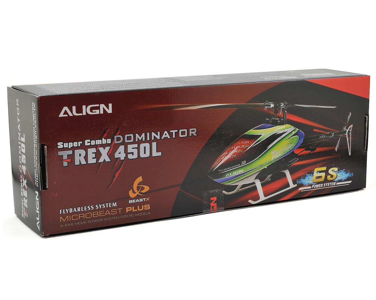 Image 6 for Align T-Rex 450L Dominator 6S Super Combo Heli Kit