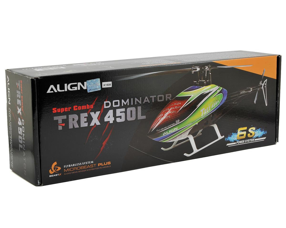 Align T-Rex 450L Dominator 6S Super Combo Heli Kit