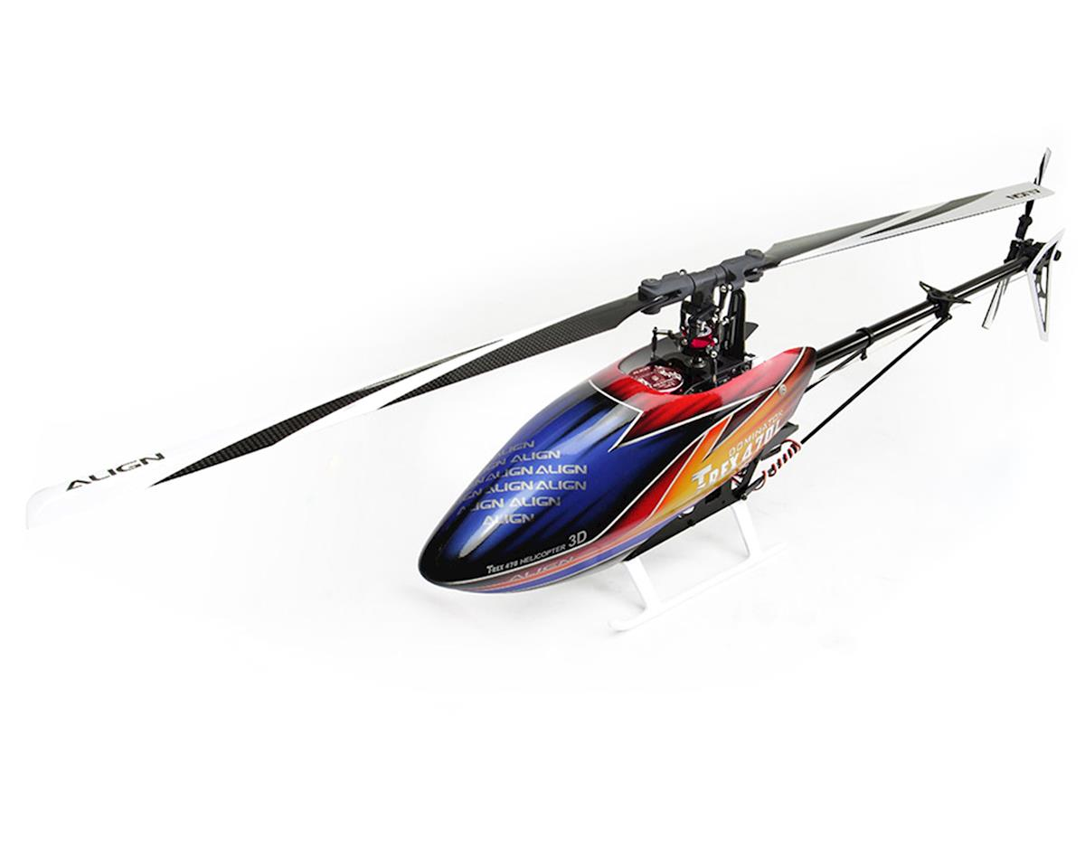 T-REX 470LP Dominator Super Combo Helicopter Kit