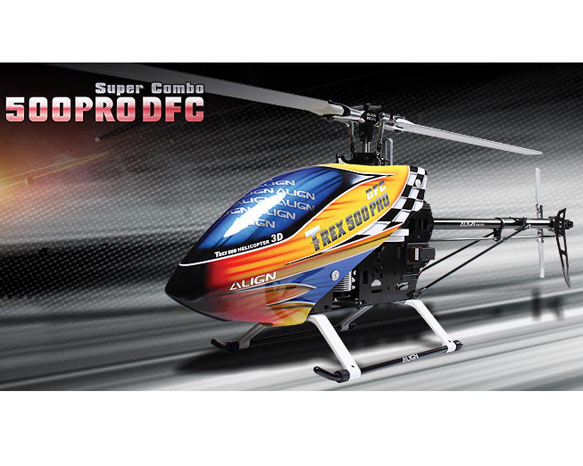 Align T-REX 500 PRO DFC Super Combo Helicoper Kit w/Motor, ESC, 4 Servos, Gyro & Carbon Blades