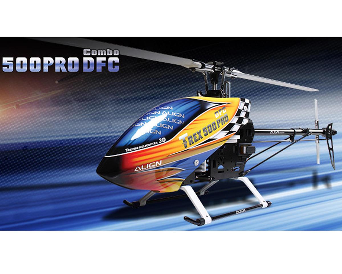 Align T-Rex 500 PRO DFC Super Combo Helicopter Kit w/Motor, ESC, 4 Servos & Carbon Blades