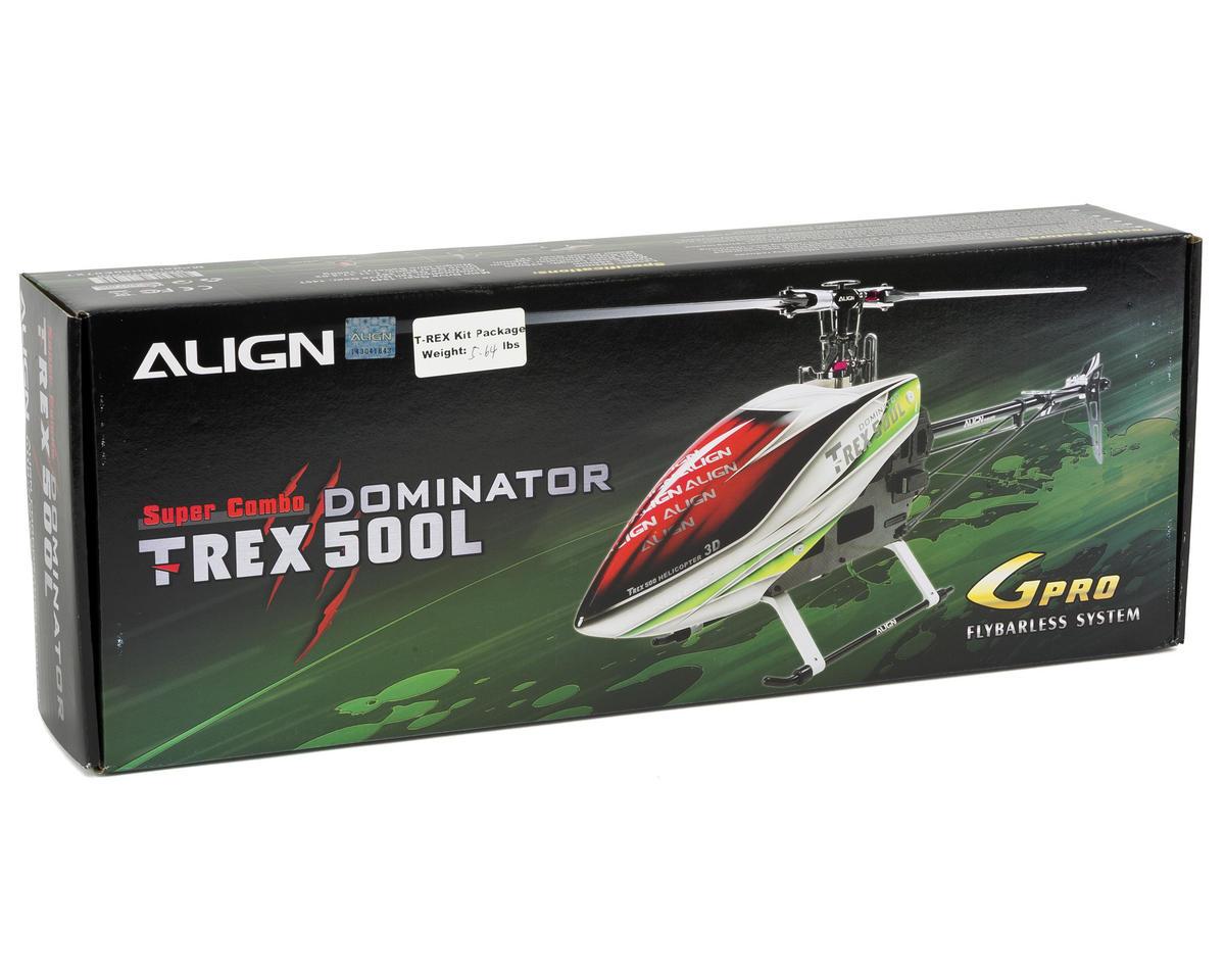 Align T-Rex 500L Dominator Super Combo Helicopter Kit