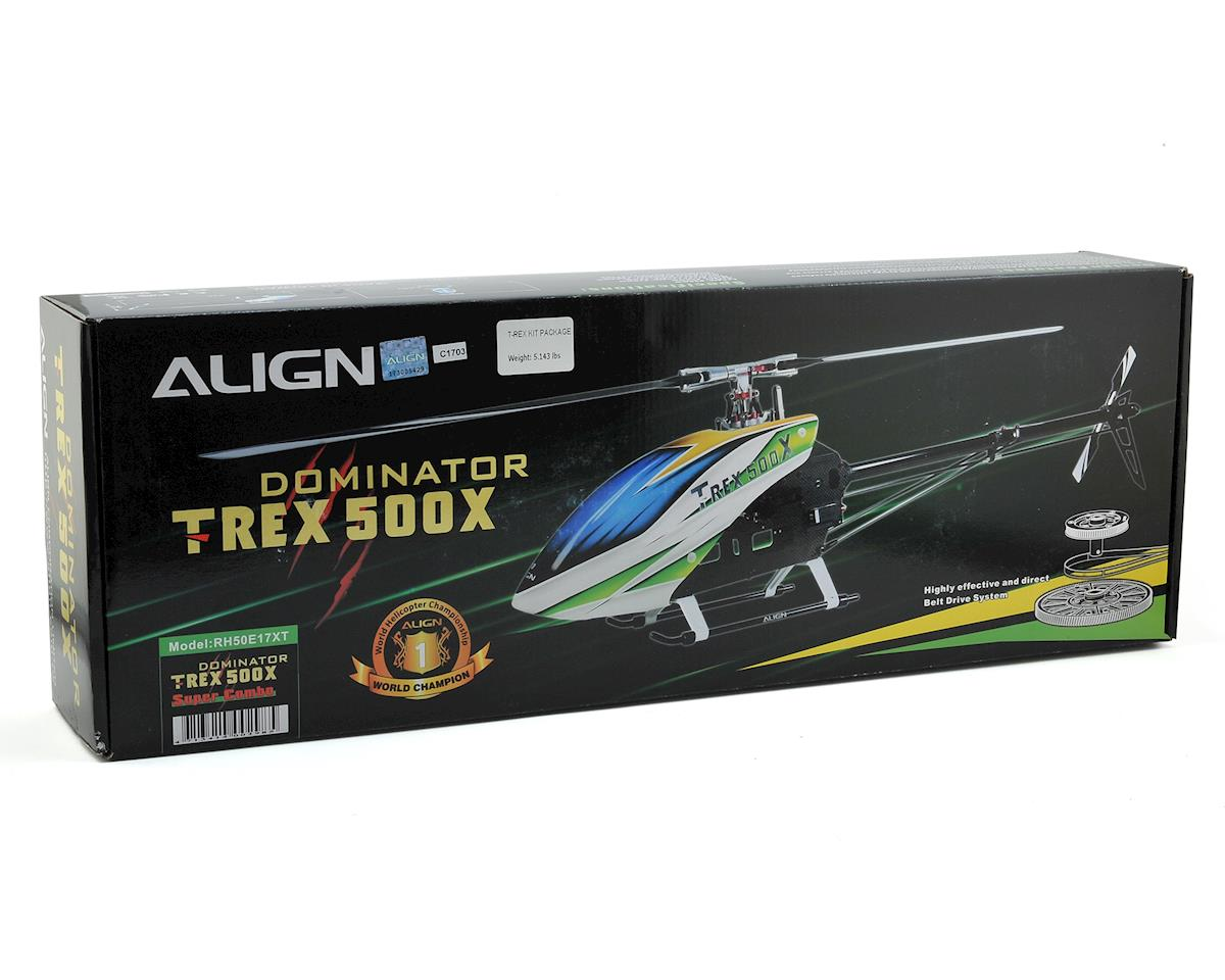 Align T-Rex 500X Super Combo Helicopter Kit