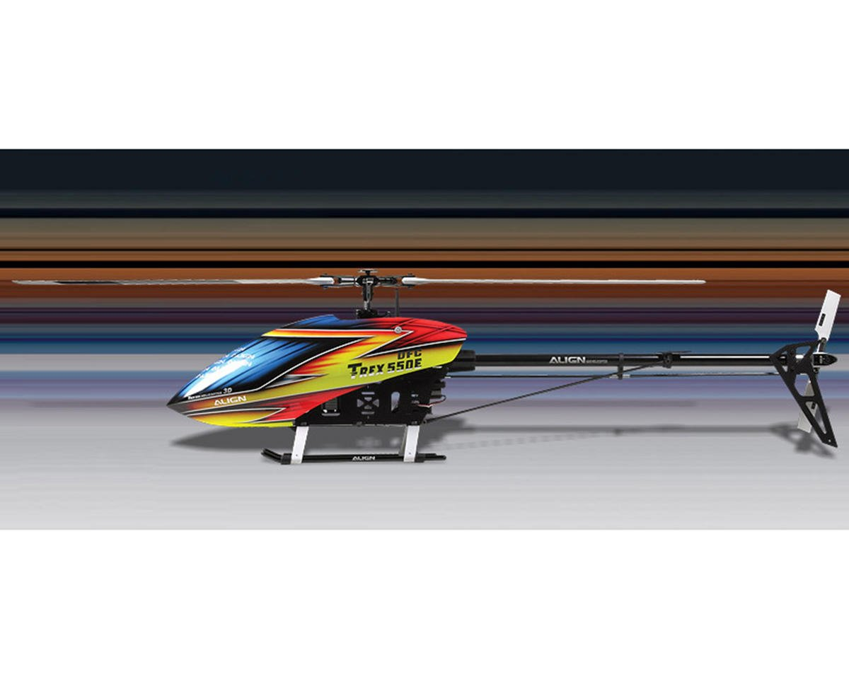 Align T-REX 550E Pro DFC Combo Helicopter Kit w/Gyro, Motor, ESC, 4 Servos & Carbon Blades