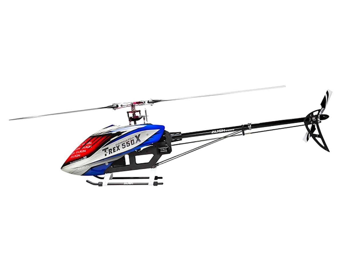 T-REX 550X Dominator Super Combo Helicopter Kit