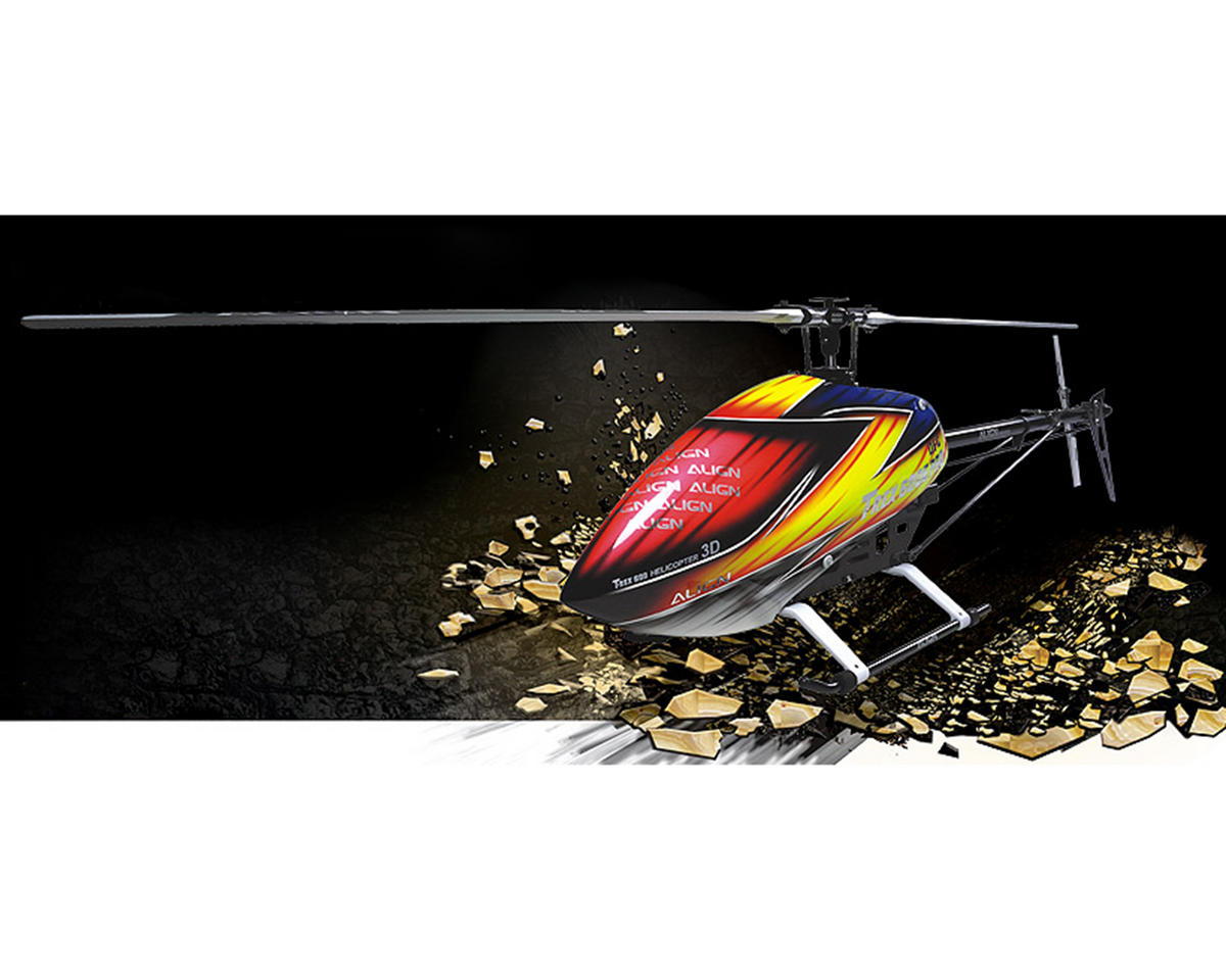 Align T-REX 600E PRO DFC Super Combo Helicopter Kit w/Motor, ESC, 4 Servos, Gyro & Carbon Blades