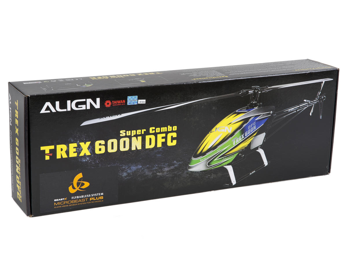 Align T-REX 600N Nitro DFC Super Combo Helicopter Kit