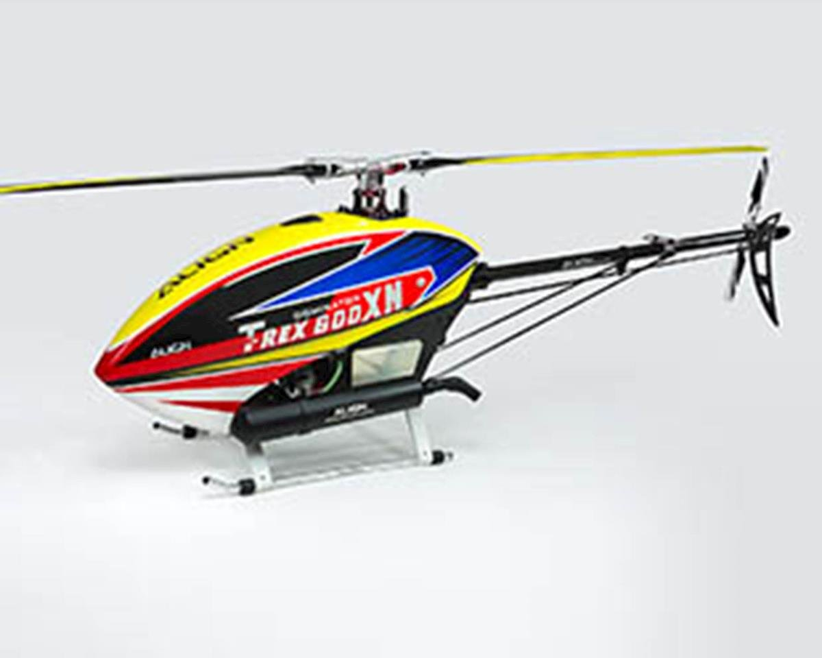 Image 2 for Align T-REX 600XN Super Combo Nitro Helicopter Kit