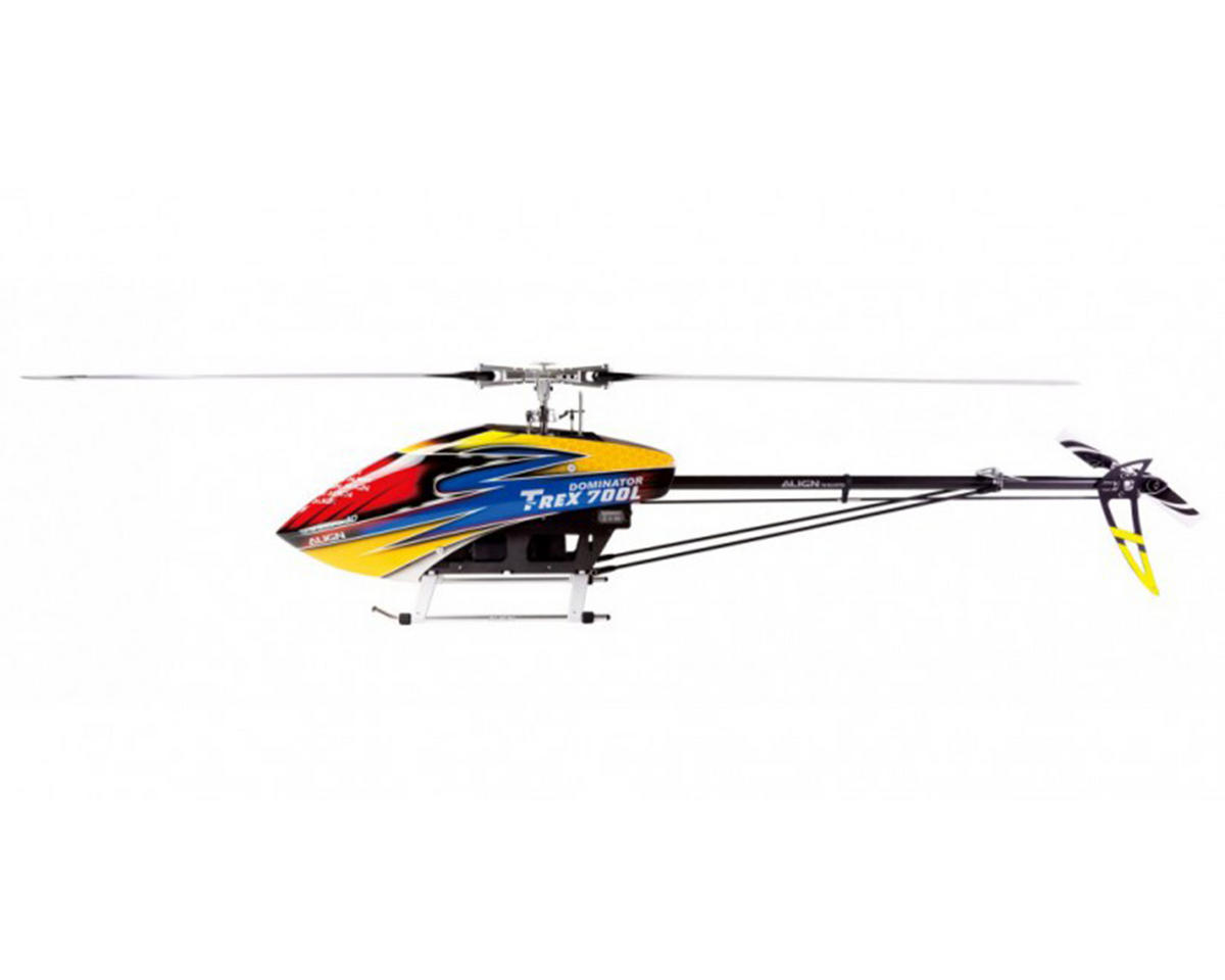 Align T-REX 700L Dominator HV Super Combo Electric Helicopter Kit