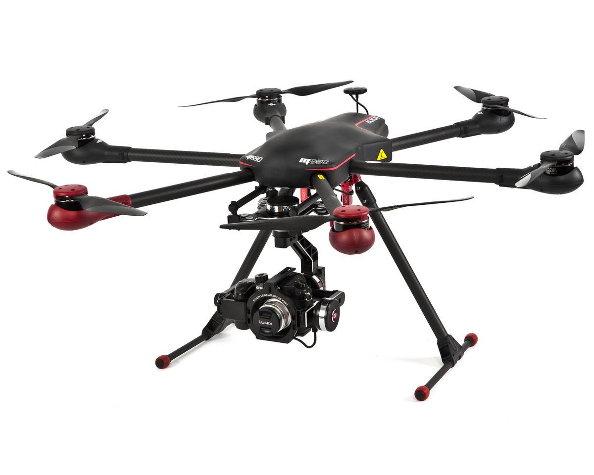 Align M690L Hexacopter Drone Super Combo Kit w/APS-M, PCU, GPS & Landing  Skids
