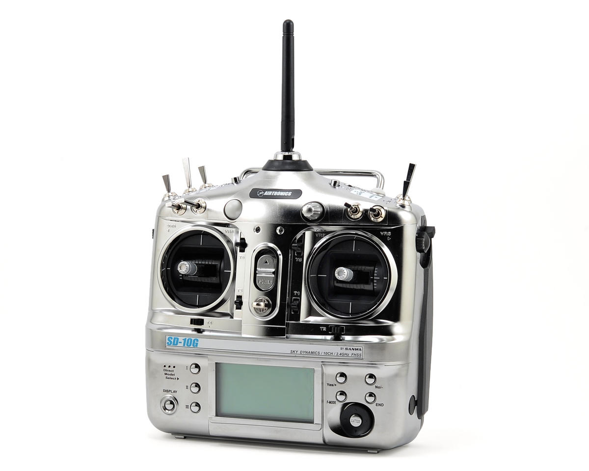 Airtronics SD-10G 10-Channel 2.4GHz FHSS Radio System (w/7 CH RX)