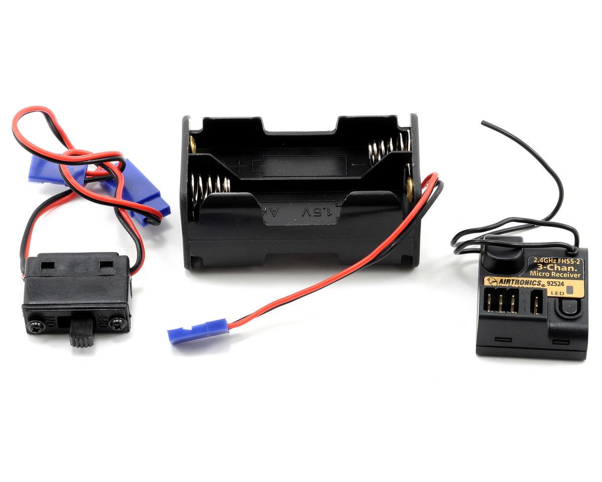 Airtronics MX-Sport FHSS-2 2.4 GHz Radio w/92524 3-Channel Receiver