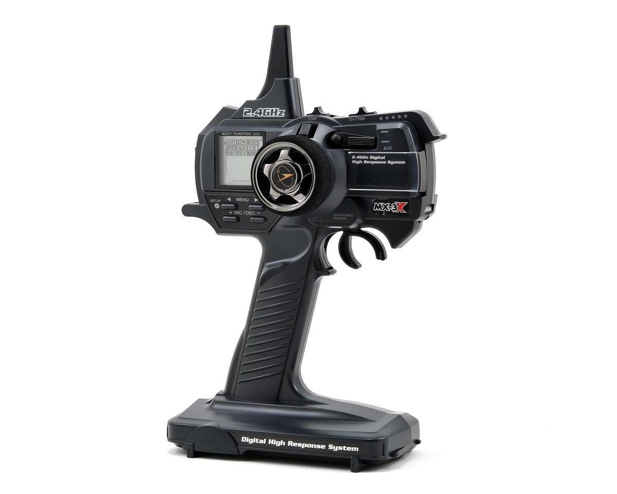 Airtronics MX-3X 2.4GHz FHSS-3 Competition Pistol Grip Radio w/92744 Receiver
