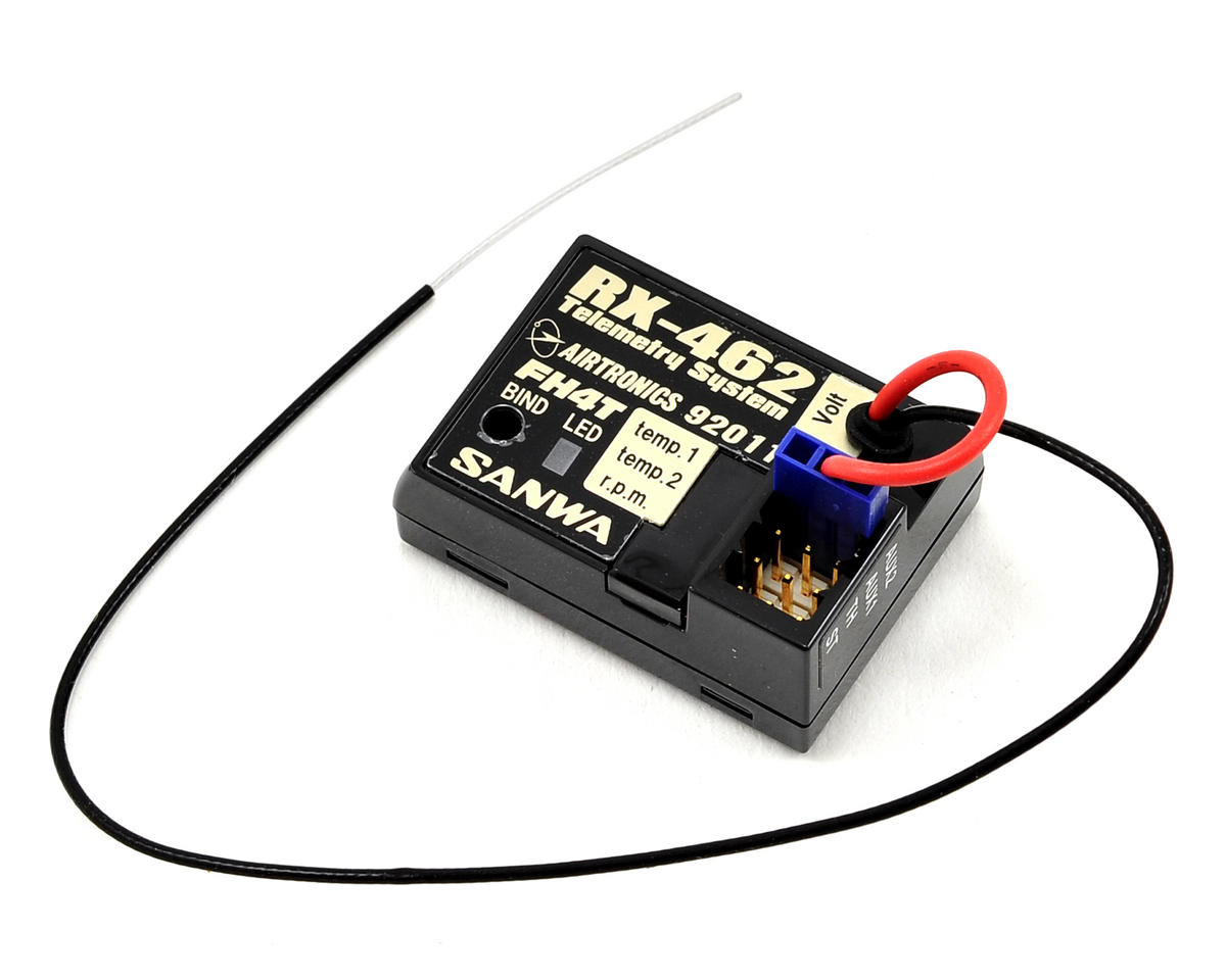 Airtronics RX-462 2.4GHz FHSS-4T 4-Channel Telemetry Receiver (MT-4)