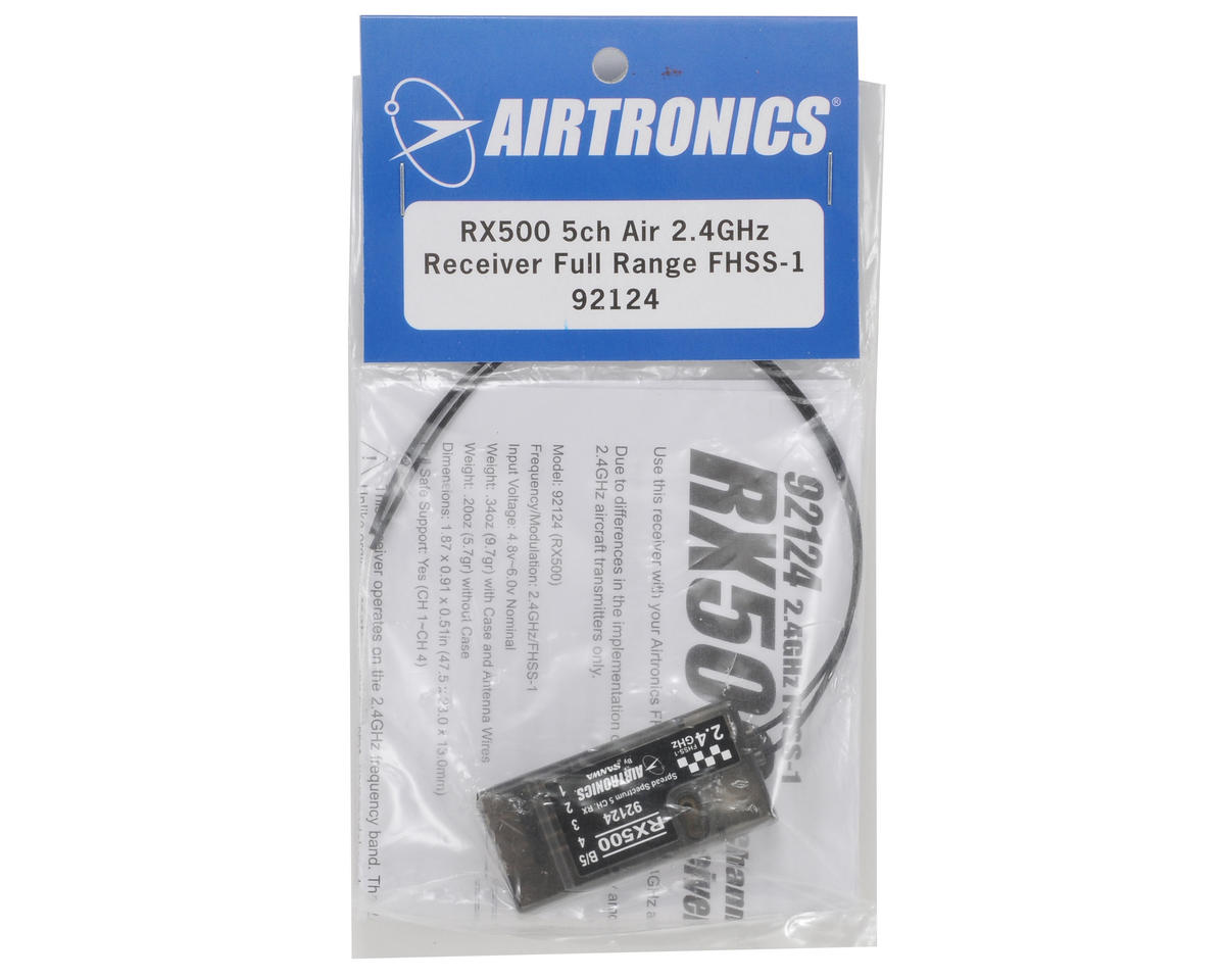 Airtronics RX500 2.4 Ghz FHSS-1 5-Channel Receiver